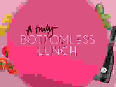 A Truly Bottomless Lunch