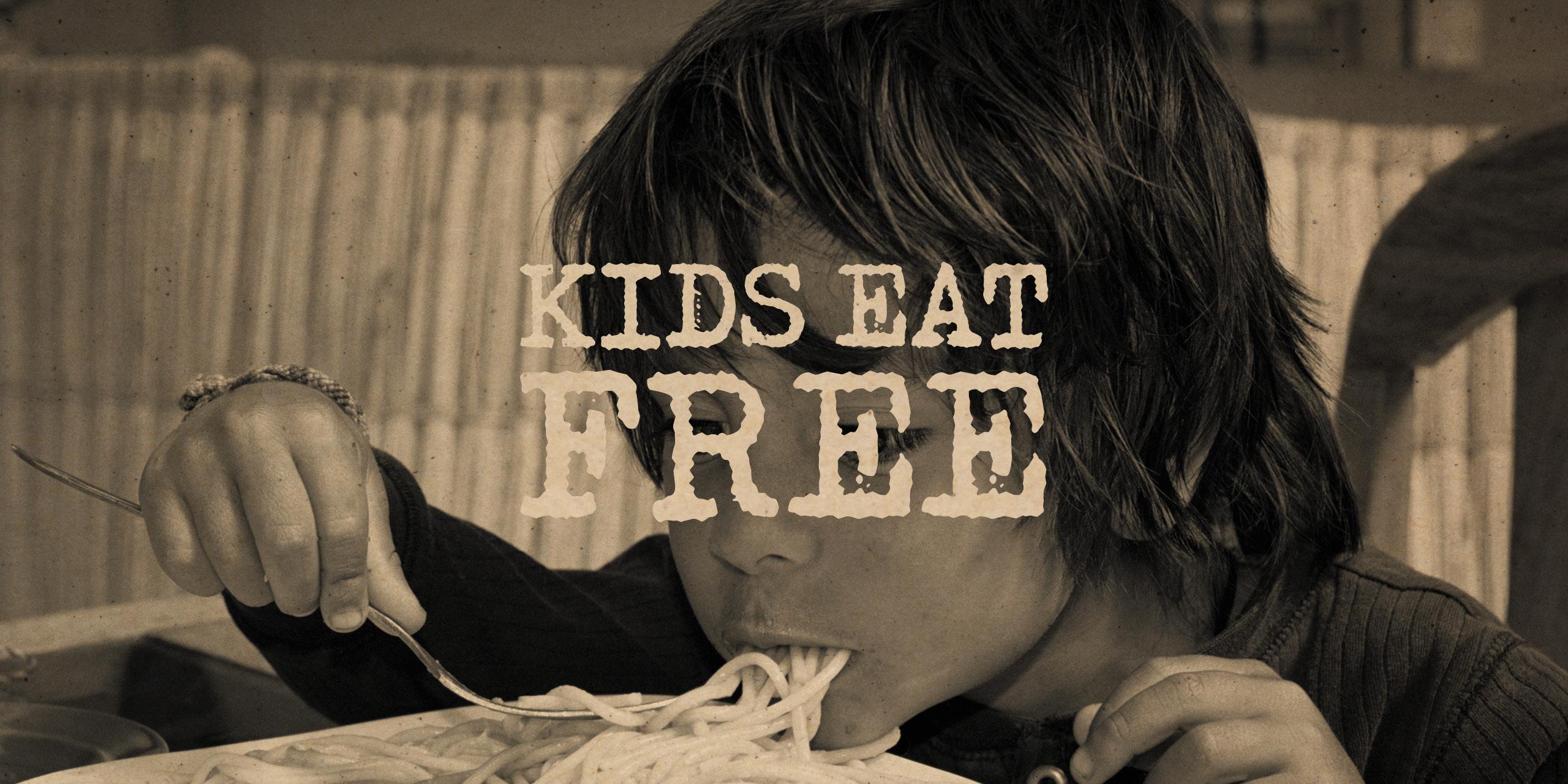 Gusto Kids Eat Free