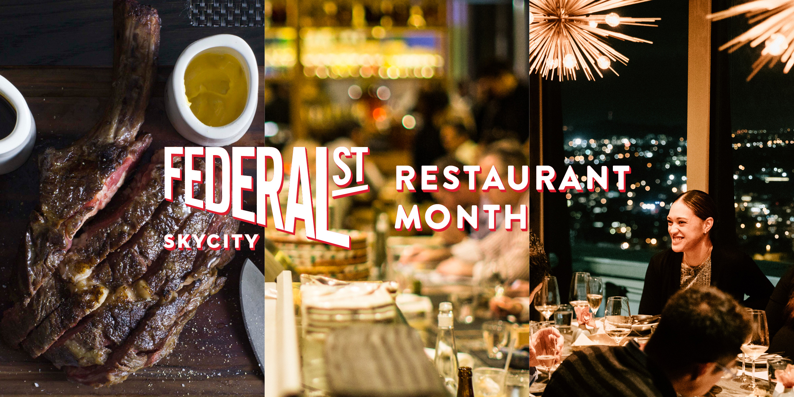 Restaurant Month at SkyCity