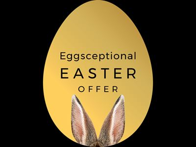 Let us tempt you with these eggsceptional Easter offers!