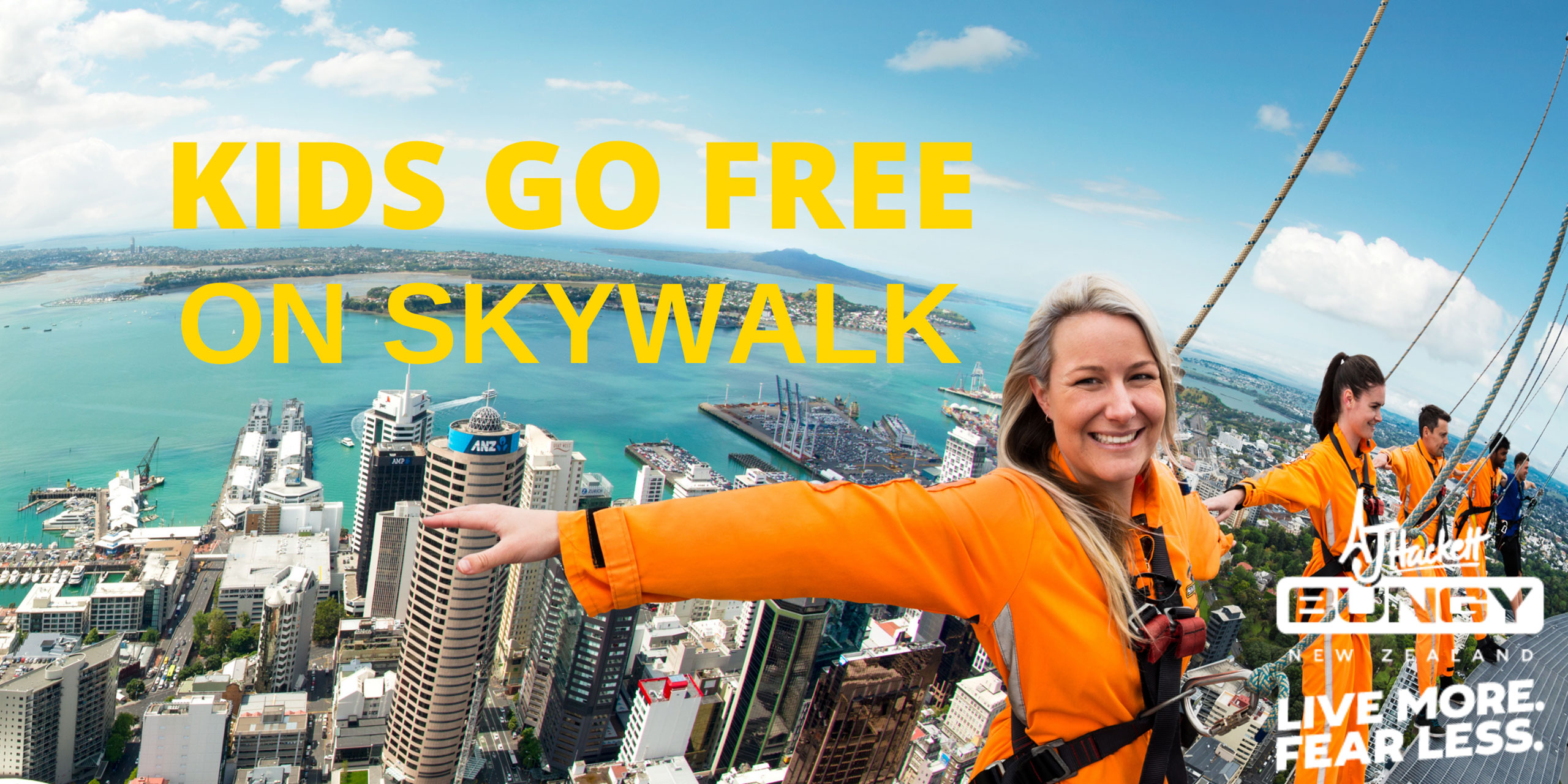 Kids go free on SKYWALK